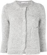 Fabiana Filippi knitted open cardigan - women - Cotton - 40