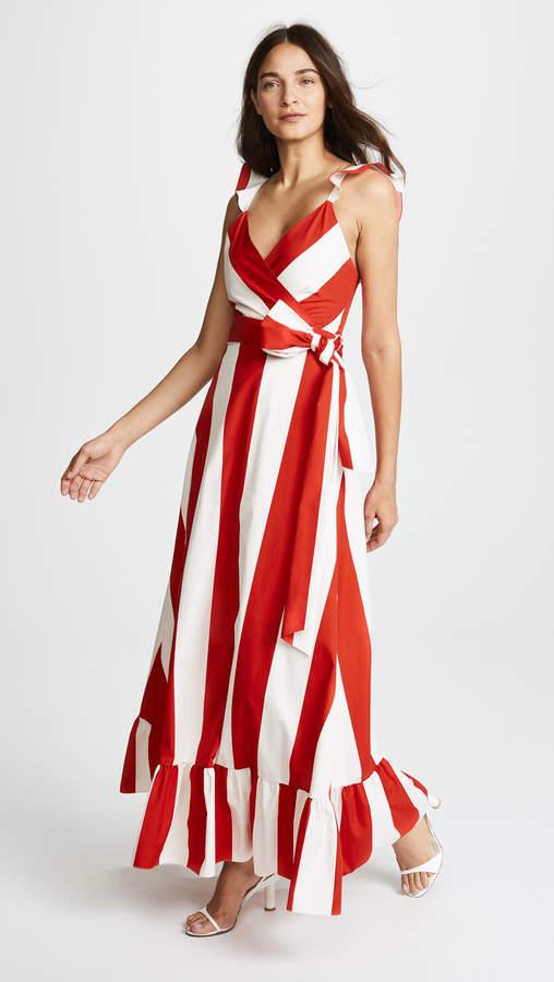 Alice + Olivia Fernanda Maxi Dress
