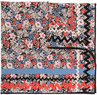 Gucci Mariette floral print pocket square