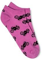 Xhilaration Women's Low Cut Fashion Socks Pink