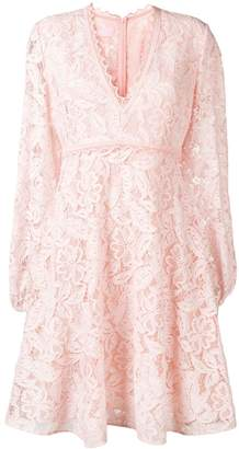 Giamba floral lace dress