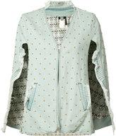 Thomas Wylde Cherry denim jacket - women - Cotton/Spandex/Elastane - XS