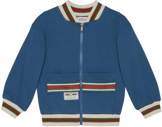 Gucci Children's cotton jacket with Web