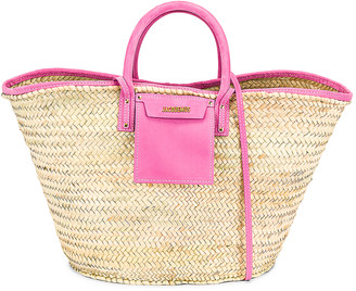 Jacquemus Le Grand Panier Soleil Bag in Pink | FWRD