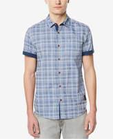 Buffalo David Bitton Men's Button-Down Jacquard Shirt