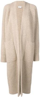 Ami Paris Long Gilet Rib Sweater
