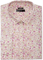 Bar III Men's Slim-Fit Stretch Easy Carel Print Dress Shirt, Created for Macy's
