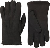 UGG Womens Gloves With Gauge Points Black