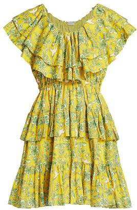 Rhode Resort Dotty Floral Mini Dress