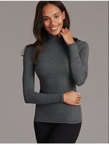 Autograph Thermal Long Sleeve Top with Cashmere