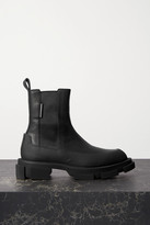 Both both - Gao Rubber-trimmed Leather Platform Chelsea Boots - Black