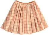 Morley Checked Cotton Mona Skirt
