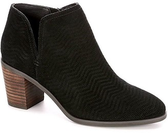 Lucky Brand Parnesa Perforated Suede Bootie