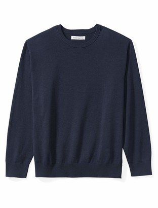 Amazon Essentials Men's Big & Tall Crewneck Sweater fit by DXL