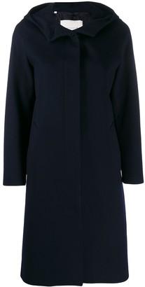 MACKINTOSH Chryston navy hooded coat
