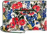 Balenciaga Classic Flat Zip Pouch, Floral Print