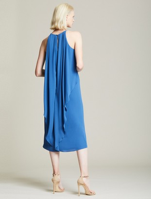 Halston Cascade Back Dress