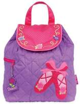 Stephen Joseph Ballet Quilted Backpack in Purple