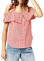 Warehouse Gingham Top, Red