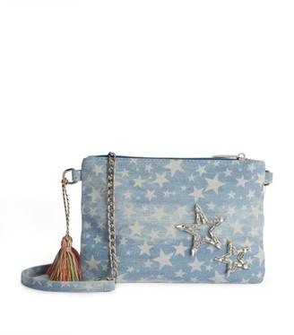 Bari Lynn Star-Embellished Clutch Bag