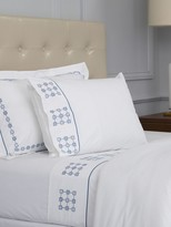 Peter Reed Harrogate Embroidered King Flat Sheet