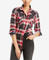 Levi's Cotton Vintage Plaid Western Shirt