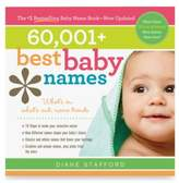 Bed Bath & Beyond 60,001+ Best Baby Names Book