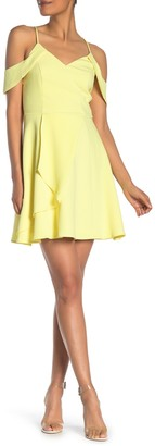 Adelyn Rae Yvone Woven Fit & Flare Dress