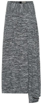 Bottega Veneta Ribbed cotton knit skirt
