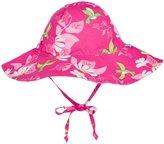 I Play Brim Sun Protection Hat (Baby/Toddler) - Fuchsia Hummingbird - 9-18 Months