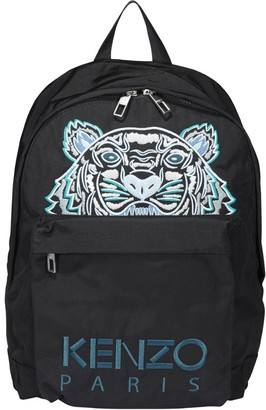 Kenzo Kampus Tiger Embroidered Backpack