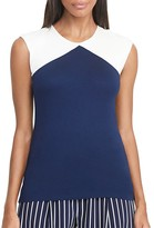 Lauren Ralph Lauren Color Block Jersey Top