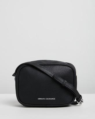 Armani Exchange Camera Case Cross-Body Bag