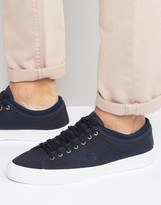 Fred Perry Kendrick Tipped Cuff Jersey Plimsolls