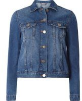 Dorothy Perkins Womens Mid Wash Denim Jacket- Blue