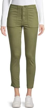 Joie Cotton Blend Cropped Pants