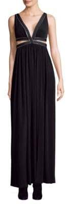Each X Other Maxi Zip Detail Dress