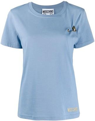 Moschino teddy pin T-shirt