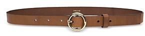 Frame Petit Circle Leather Belt