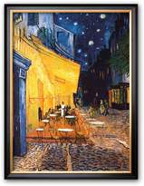 "Art.com The Cafe Terrace on the Place du Forum, Arles, at Night, c.1888"" Framed Art Print by Vincent van Gogh"