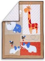 Dream On Me Jungle Babies Reversible 5-Piece Portable Crib Set