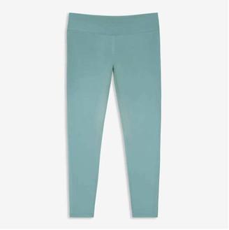 Joe Fresh Women+ High-Waist Active Legging, Cool Green (Size 3X)