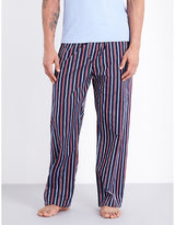 Derek Rose Royal 202 Cotton Pyjama Bottoms