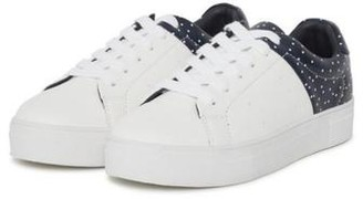 Ichi Raven White Trainers Shoes - 36