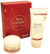 Murad Limited Edition Merry & Smooth Exfoliate and Hydrate Polish & Plump Set
