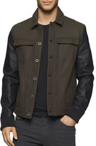 Calvin Klein Jeans Button-Down Trucker Jacket