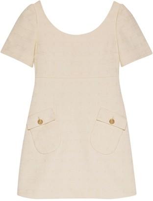 Gucci Tweed Short Dress