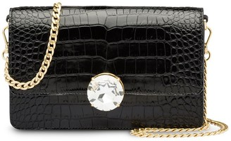 Miu Miu Crocodile Effect Clutch