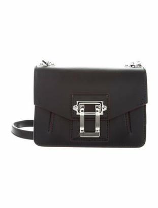 Proenza Schouler Leather Mini Hava Crossbody Bag w/ Tags Black