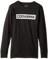 Converse Kids Wordmark Tee Boy's T Shirt